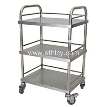 3 Tiers Stainless Steel Kitchen Cart Trolley