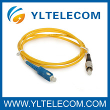 SC LC OS2 125um Fiber Optic Patch Cord for FTTH / LAN / CATV / FOS