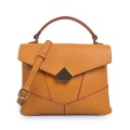New Arrival Geometric Tote Bag With Magnet Closure