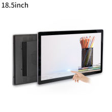 Wall mounted 18.5 inch touch aio pc