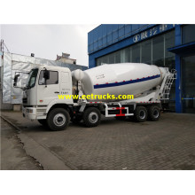 4000 Gallons 8x4 Beton Drum Mixer Trucks