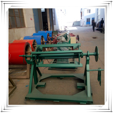 Decoiler for roll forming machine