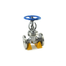 Sale din standard ductile iron angle ptfe lined manual globe valve pn16 dn65
