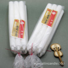Hot sell dinner candle white pillar candle