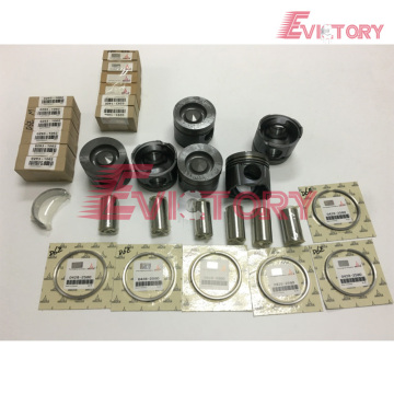 VOLVO D6D rebuild overhaul kit gasket bearing piston