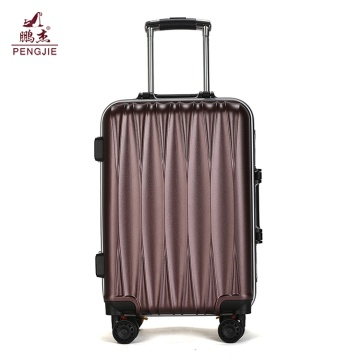 Designing bags 4 wheels customized ABS luggage