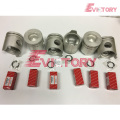 excavator 6D22-T engine gasket bearing piston ring liner