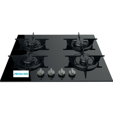 Indesit Gas Hob Black Stove