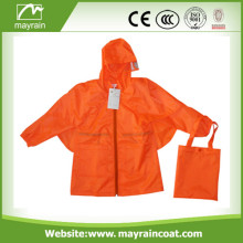 Fashion Polyester Raincoat for Women and Men