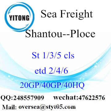 Shantou Port Sea Freight Shipping To Ploce
