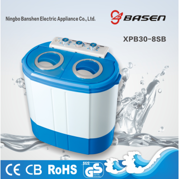 3KG Twin Tub Blue Plastic Cover Washing Machine