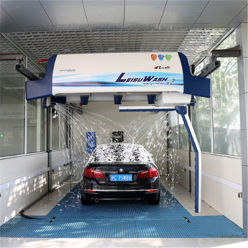 Auto car wash machine touchless