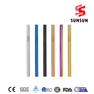 18/8 Charming Stainless Steel Straw