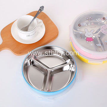 Food grade cartoon stainless steel lunch box