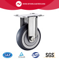 Plate Fixed TPR Stainless Steel Caster
