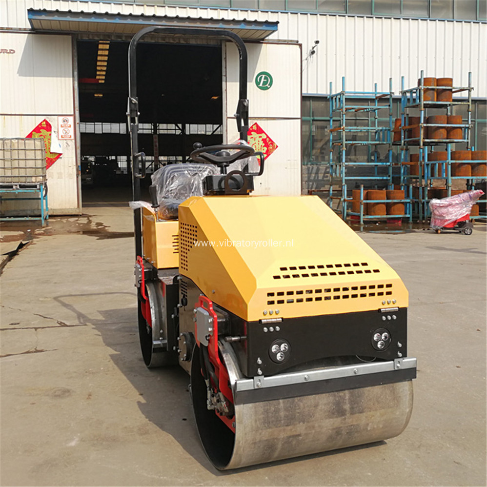 1 ton Tandem Smooth Drum Road Roller