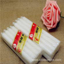 Aoyin small white candle cheap wax candles