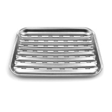 Leading for Vegetables Grill Basket Low Price Stainless Steel Grill Basket export to Italy Factory