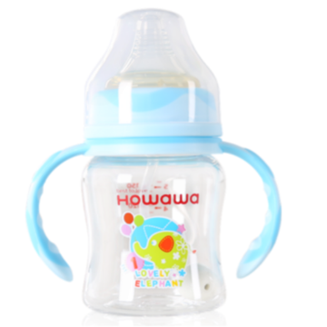 5oz Infant Tritan Feeding Bottle With Handle