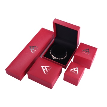 red ring and necklace and bangle boxes