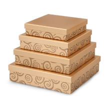 Wholesale paper cardboard gourmet biscuit cookie box