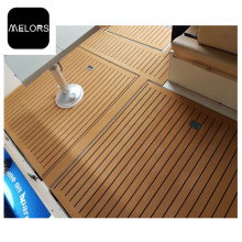 Light Teak + Black UV Resistant EVA Foam Marine Boat Flooring