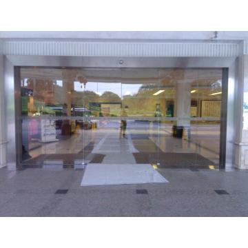 Automatic Glass Double Sliding Door
