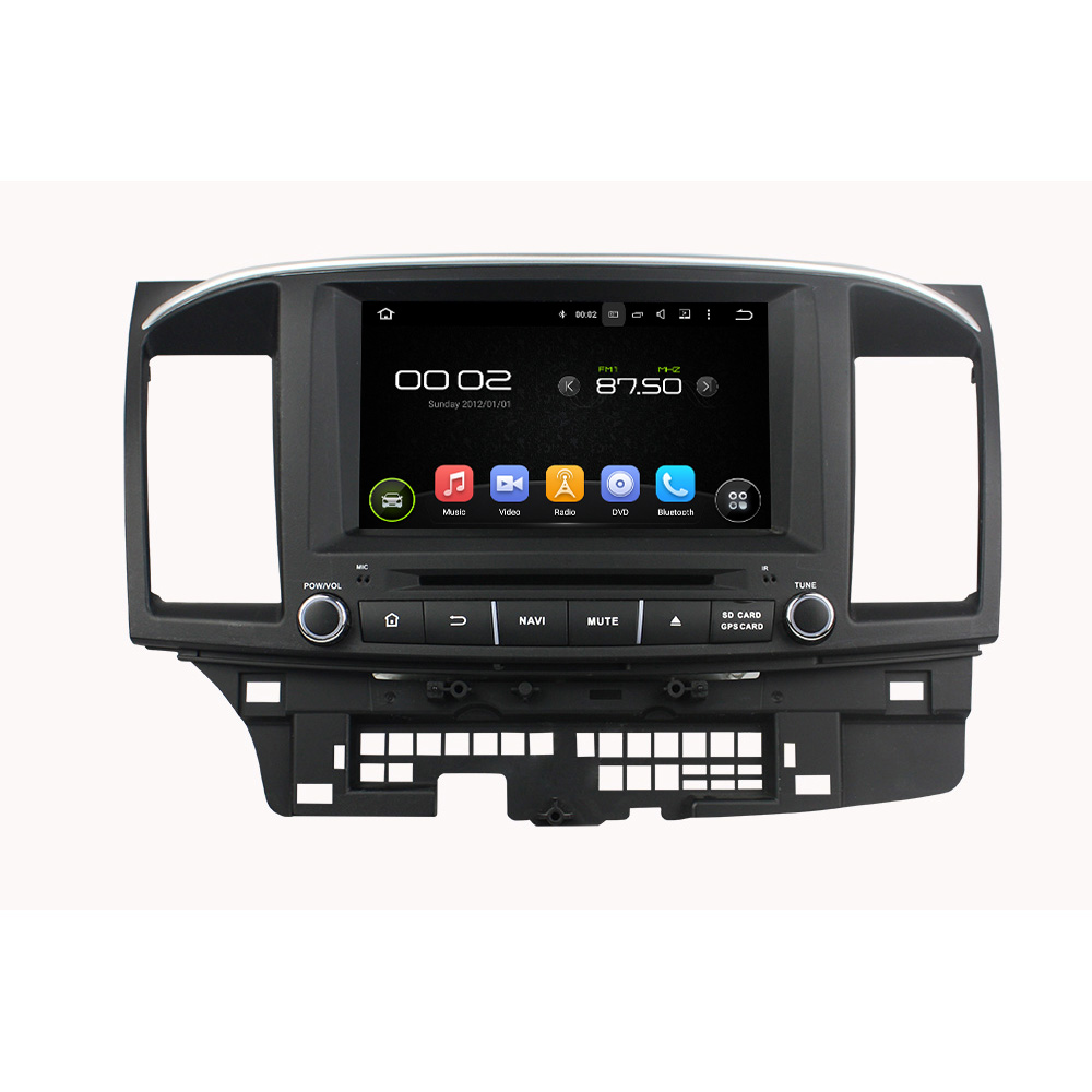 Android 6.0 car dvd player for Lancer 2015