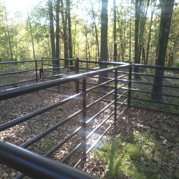 Galvanized Livestock Metal Fence Panels