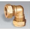 Brass 90' Compression Elbow