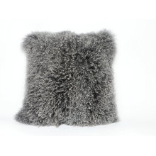 Mongolian Lamb Fur Cushion