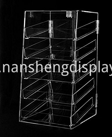 5 tier Clear Acrylic Stands Cupcake