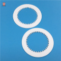 high temperature laser cutting alumina ceramic gear spacer