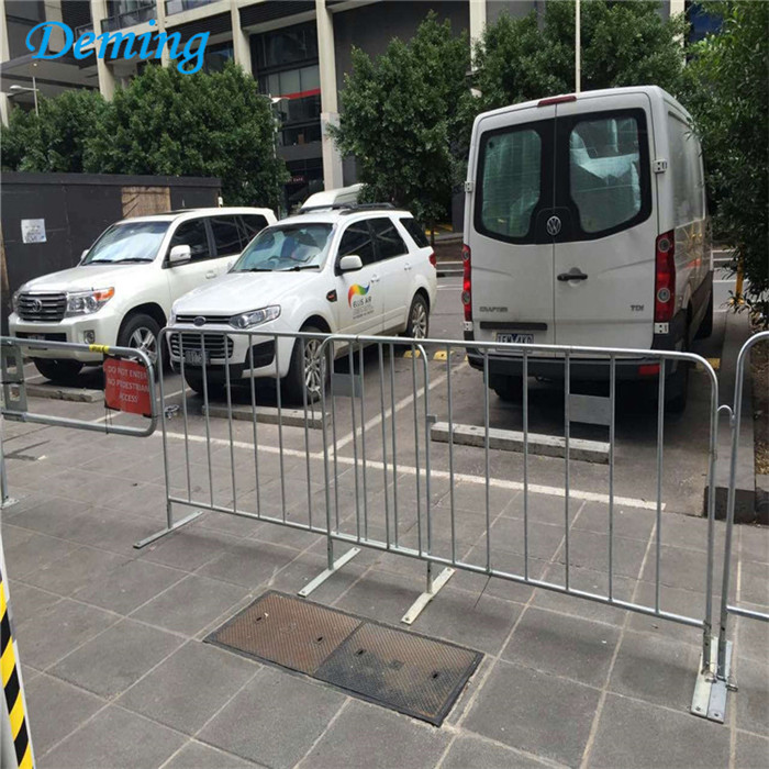 Crowd Control Barricades Galvanised Portable Fence
