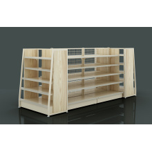 One of Hottest for Backplane Supermarket Shelf,Hole Supermarket Shelf,Net Supermarket Shelf Manufacturers and Suppliers in China Backnet And Backhole Display Rack export to Malaysia Wholesale