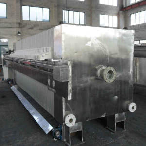 High Pressure Plant Molasses Plate Frame Filter Press