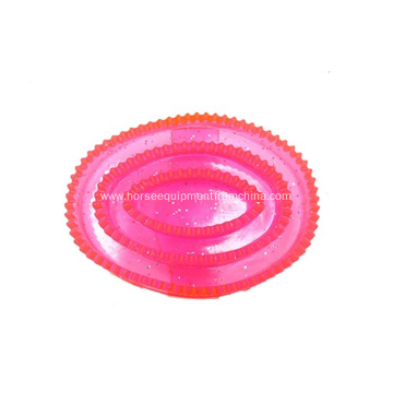 PVC Curry Comb for Horse