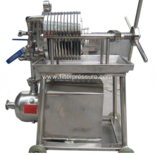 Small Stainless Laboratory Plate and Frame Filter Press