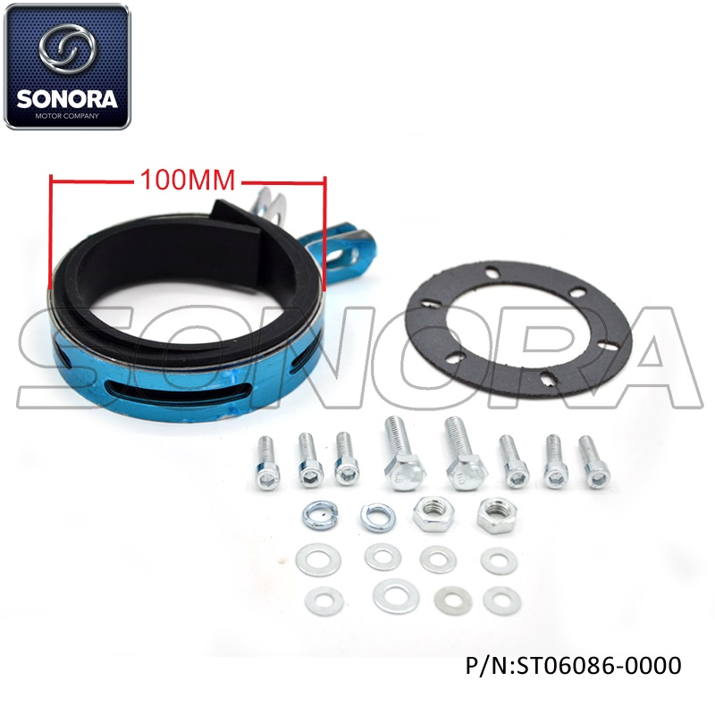 10CM Round shape Exhaust bracket set (P/N:ST06086-0000) Top Quality