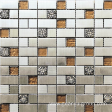 Best Quality for Natural Stone Marble Mosaic diversified material mosaic export to Tanzania Importers