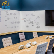 Custom Magnetic Erasable Whiteboard Wall Sticker For Office