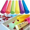 Hot Selling Silicone Ice Pop Molds with Lid