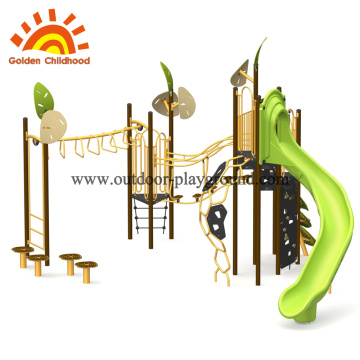 Wooden Outdoor Playground Equipment For Children
