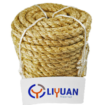 Manufacturer sale 3 strand 12mm hemp rope