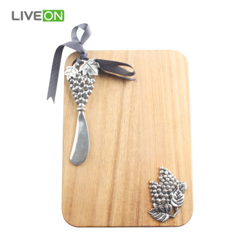 Butter Knife Cutting Board Set