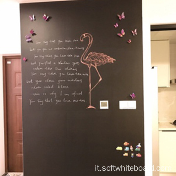 Chalk Writing Black Board Wall
