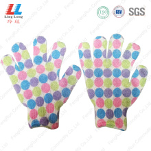 hand Foam body shower bath scrub gloves