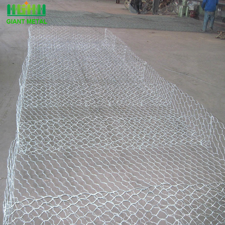 Low cost weave galvanized gabion box