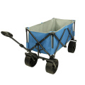 Robust tubular steel foldable handcart beach cart