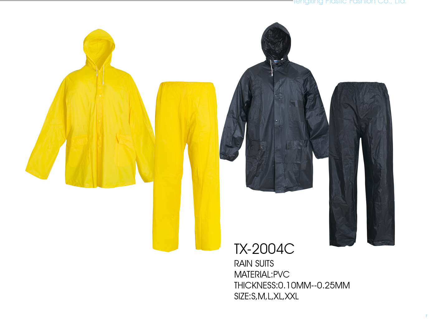 Raincoat suit